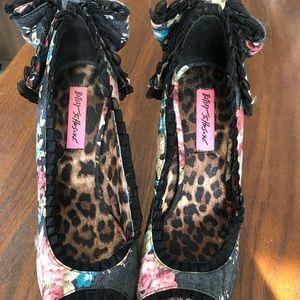 Betsy Johnson heels.  NWOT
